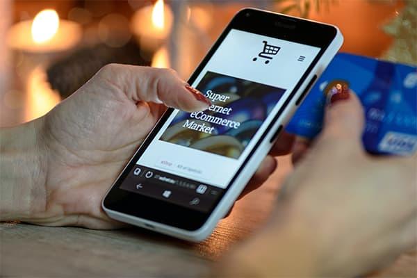 ecommerce en móvil