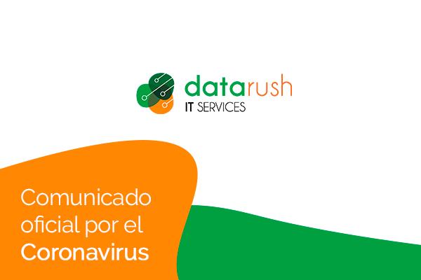 Comunicado oficial por el coronavirus